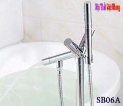 Vòi sen đặt sàn bồn tắm SB06A